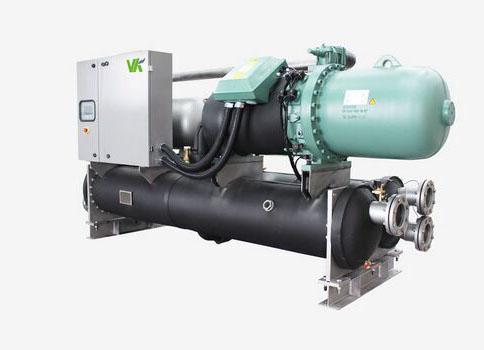 维克满液式水(地)源螺杆热泵机组——VHSF