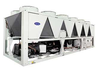 空气-水螺杆式热泵