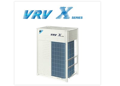 VRV 中央空调系统VRV X SERIES